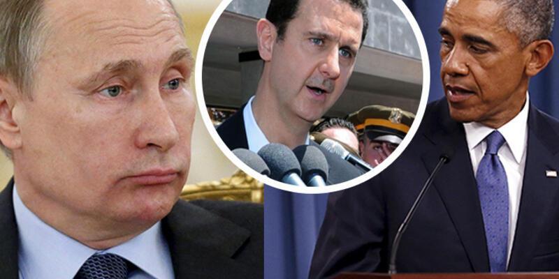 """Putin'den Obama'ya """"Esad yasal yollardan seçilmiş devlet başkanı"""" yanıtı"""