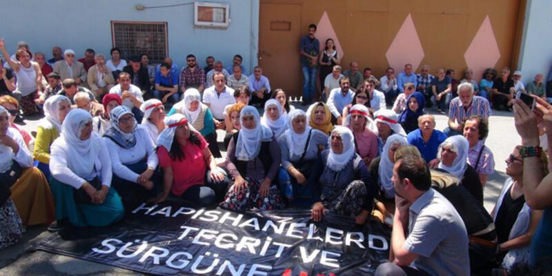 Bakırköy Cezaevi önünde nakil protestosu
