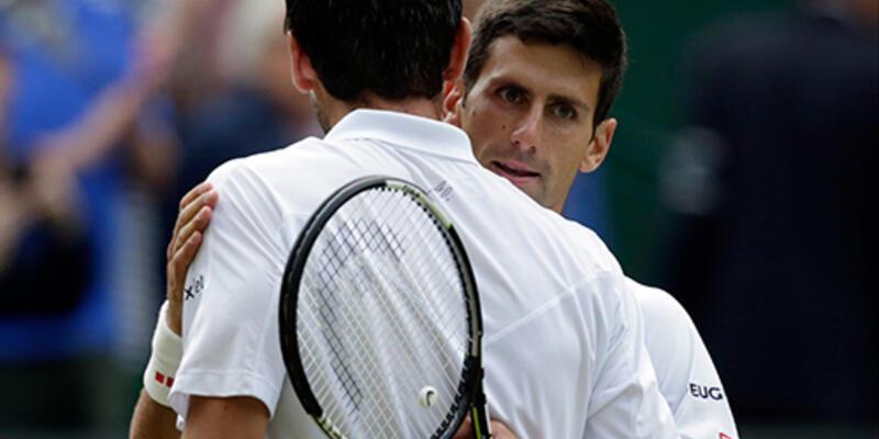 Djokovic ve Gasquet yarı finalde
