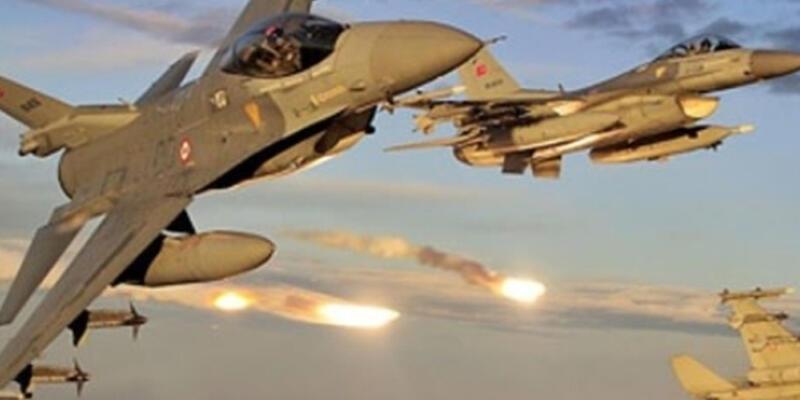 IŞİD'in Suriye'deki hedeflerine hava saldırısı