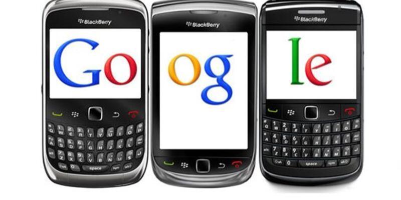 Google ve BlackBerry'den müthiş işbirliği