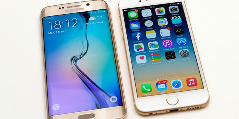 Hangisi daha dayanıklı: iPhone 6 v Galaxy S6 Edge!