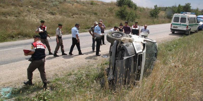 Çorum'da kaza: 6 ölü, 2 yaralı