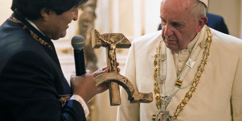 "Bolivya Devlet Başkanı Morales: ""Papa'ya suikast olabilir"""