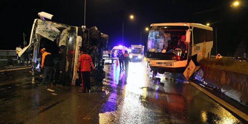 Bolu Dağı'nda otobüs kazası: 6 ölü, çok sayıda yaralı