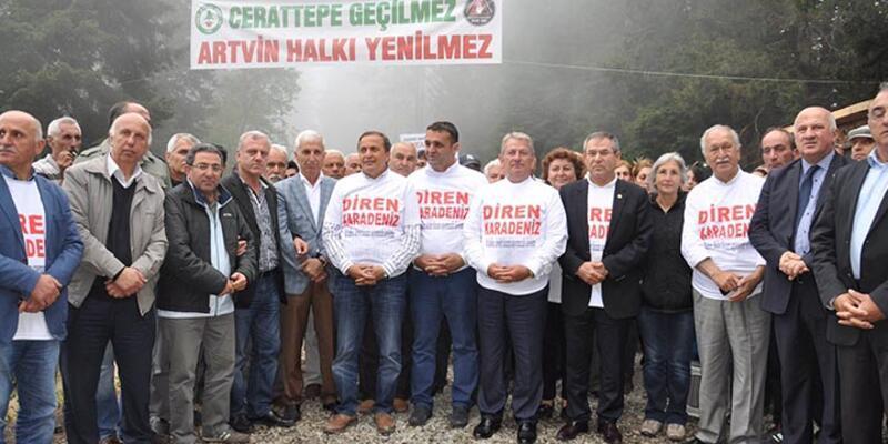 CHP'li vekilden Bakan Yıldız'ın Cerattepe açıklamasına tepki