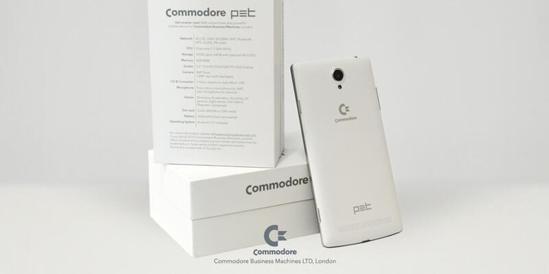Commodore 64 akıllı telefon olarak dönüyor