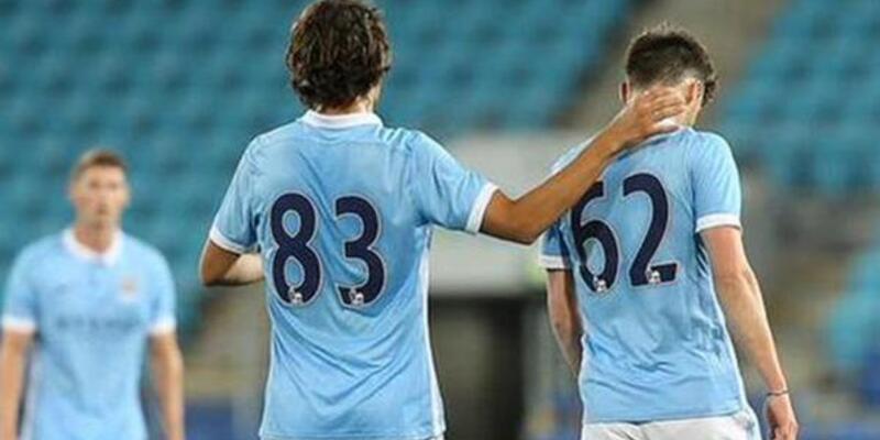 Enes Ünal ilk kez City formasıyla sahaya çıktı