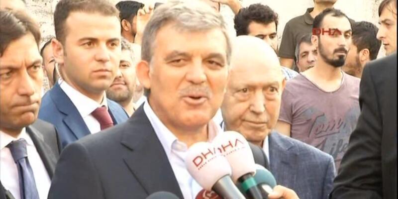 Abdullah Gül'den Suruç'taki bombalı saldırıyla ilgili açıklama