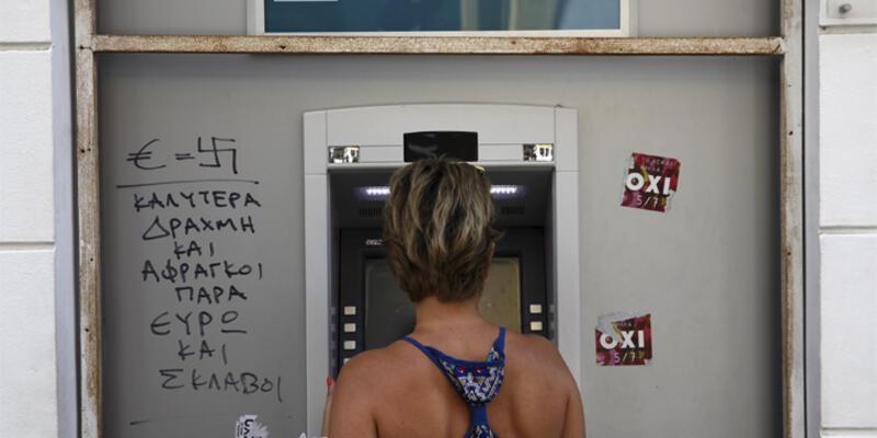 Yunanistan'da bankalar açılıyor ama limit sürecek