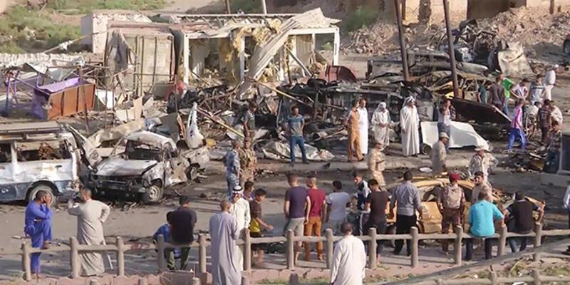 Irak'ta bomba yüklü araçla saldırı düzenlendi
