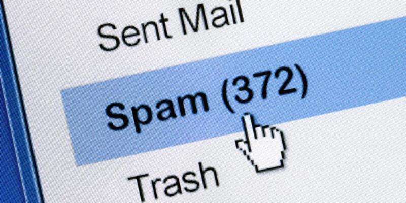 Spam postaları geriledi