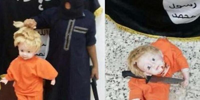 """IŞİD'den çocuklara """"baş kesme"""" eğitimi"""