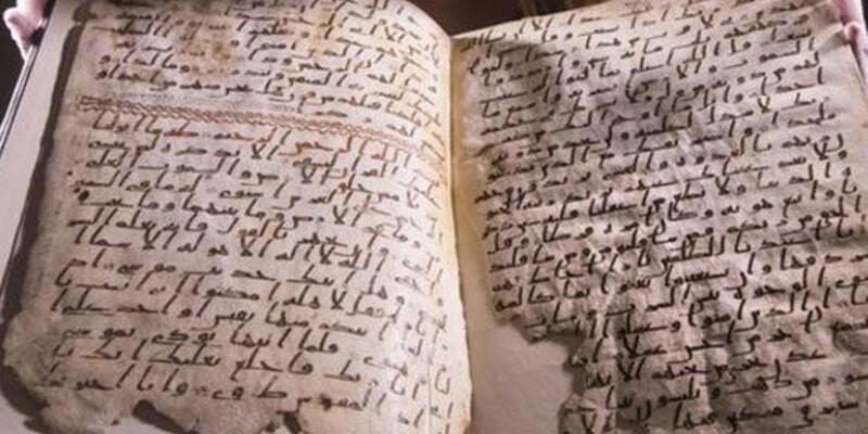 Dünyanın en eski Kur'an-ı Kerim'i bulundu