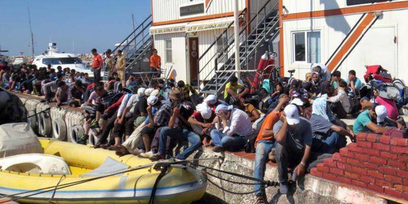 Küçükkuyu'da 3 operasyonda 158 kaçak yakalandı