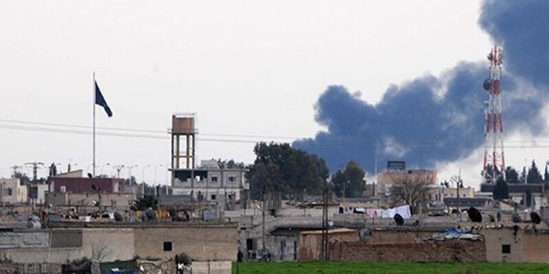 Tel Abyad'da 2 büyük patlama: PYD, IŞİD'in bomba yüklü 2 aracını vurdu
