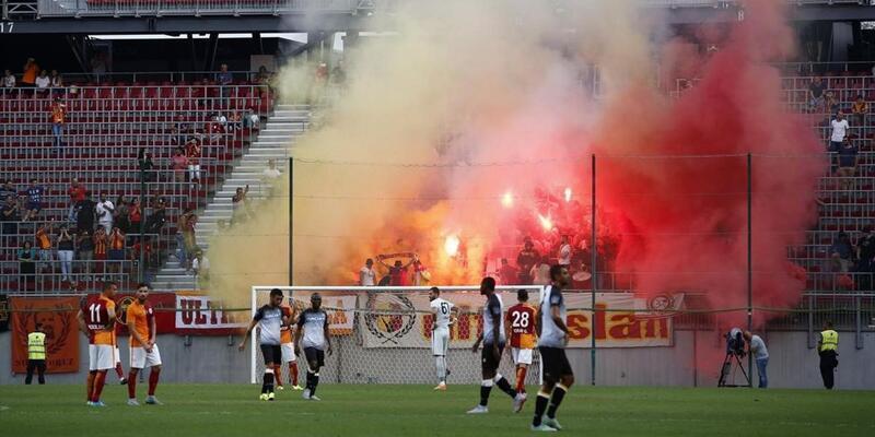 Galatasaray - Udinese maçı tamamlanamadı çünkü...