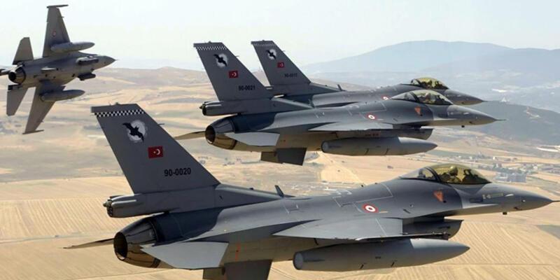 Türkiye sınırdaki F-16 sayısını 18'e çıkardı