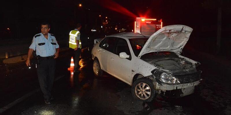 Bursa'da ıslak yol kazası: 4 yaralı