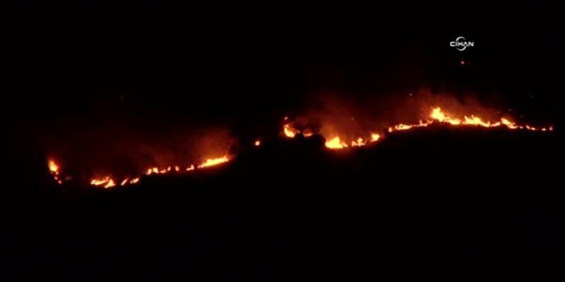 Kandil Dağı yanıyor