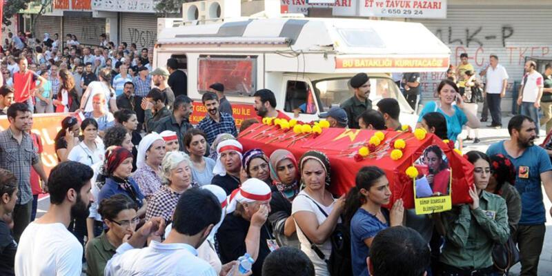 Günay Özarslan'ın cenazesi Gazi'de toprağa verildi