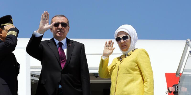 Cumhurbaşkanı Erdoğan Çin Halk Cumhuriyeti'nde