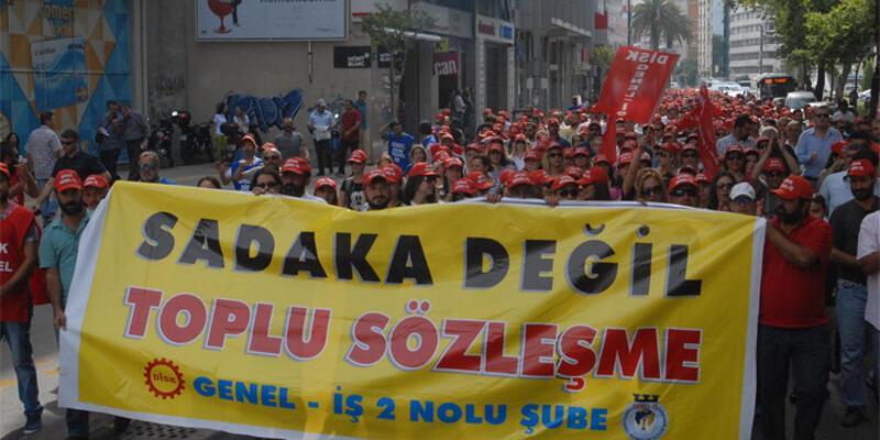Sendikalı işçi sayısı 131 bin arttı