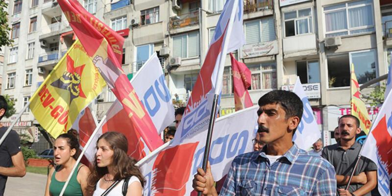 Mersin'de Suruç eylemi!