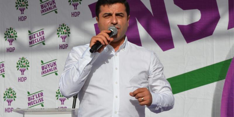 """Demirtaş: """"HDP'nin kapatılma olasılığı..."""""""