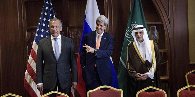 Katar'ın başkenti Doha'da ABD ve Rusya'nın Suriye toplantısı