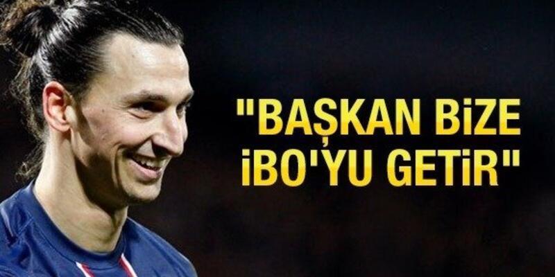Galatasaray taraftarı İbrahimovic için harekete geçti!