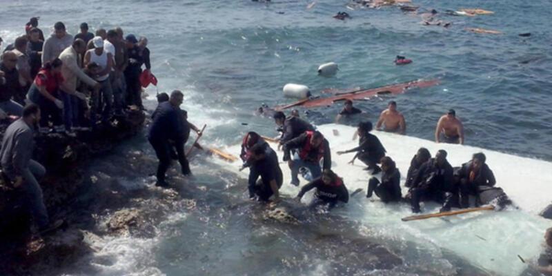 Akdeniz'de büyük facia: 50 ceset bulundu