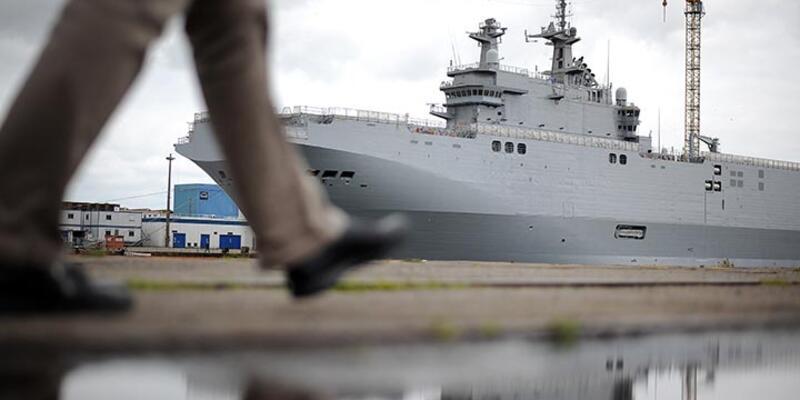 Fransa teslim etmediği savaş gemileri için Rusya'ya tazminat ödeyecek