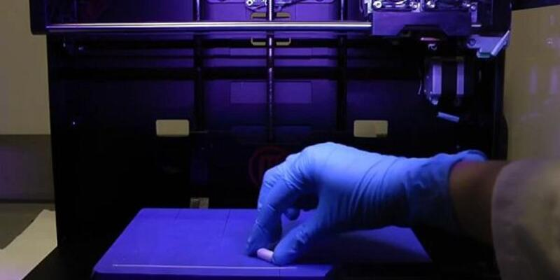 Üç boyutlu yazıcılarda ilaç ürettiler