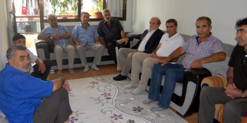 HDP'lilerden şehit ailesine taziye ziyareti