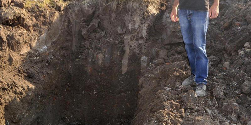 Kocaeli'de Osmanlı'dan kalma top mermisi bulundu