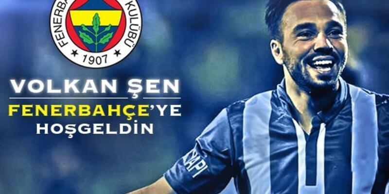 Volkan Şen 3 yıllığına Fenerbahçe'de