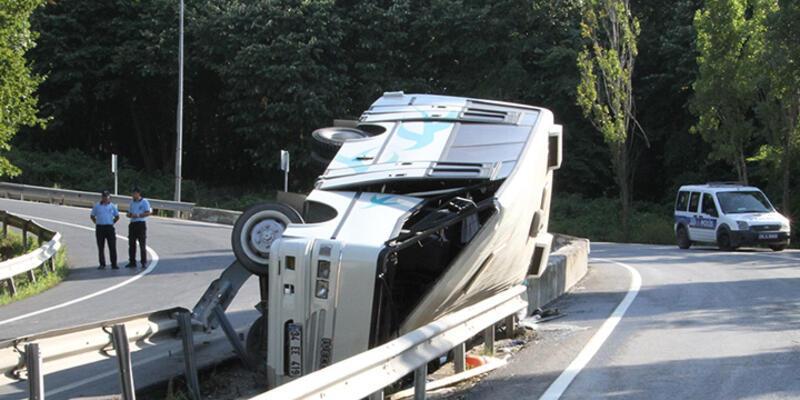 Sarıyer'de feci kaza!