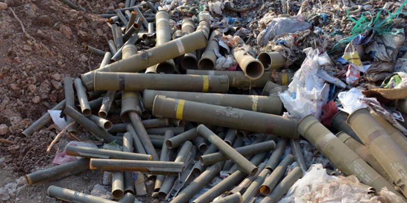 Adana'da çöpten cephanelik çıktı