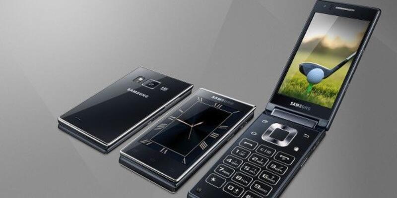 Samsung'dan kapaklı telefon