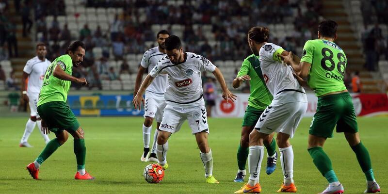Torku Konyaspor - Akhisar Belediyespor: 1-1