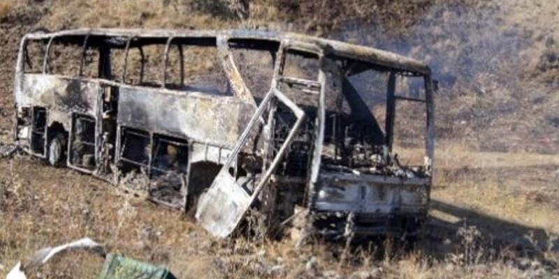 PKK yol kesti, durmayan minibüsün şoförünü öldürdü