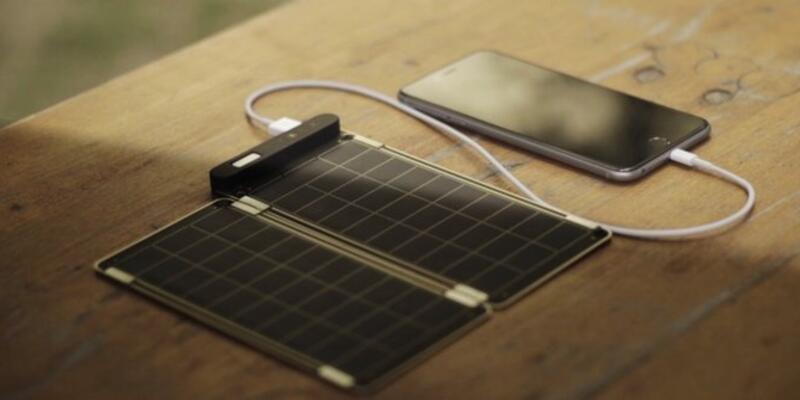 Kağıt kalınlığında güneş enerjili şarj ünitesi