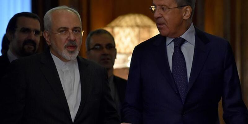 İran Dışişleri Bakanı Cevad Zarifi, Moskova'da Sergey Lavrov'la Suriye'yi görüştü