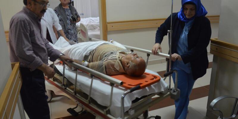 Eski AK Parti Milletvekili 5 metreden düşüp yaralandı