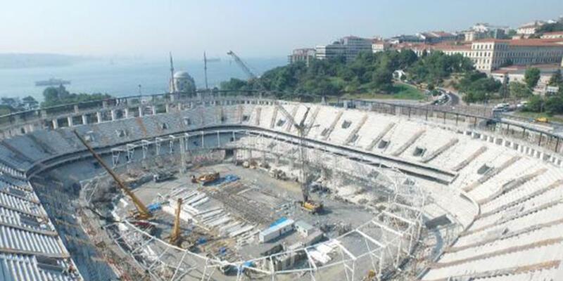 Vodafone Arena'da inşaat 2 gün sonra devam edecek