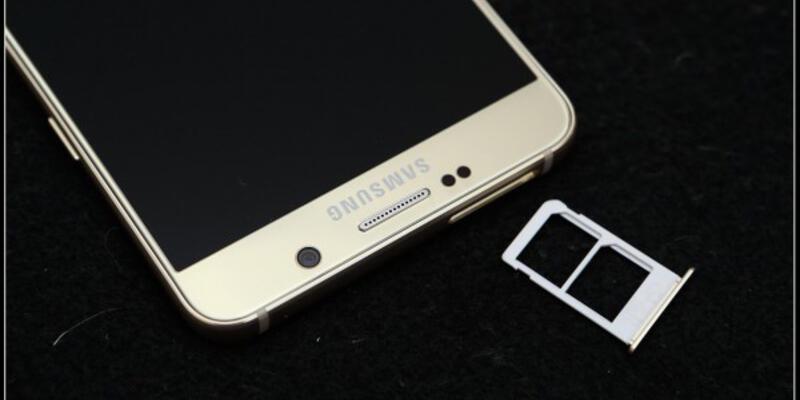 Çift SIM kartlı Galaxy Note 5
