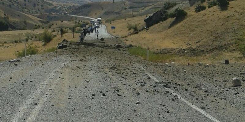 Siirt'te askeri araca bombalı tuzak: 8 asker şehit oldu
