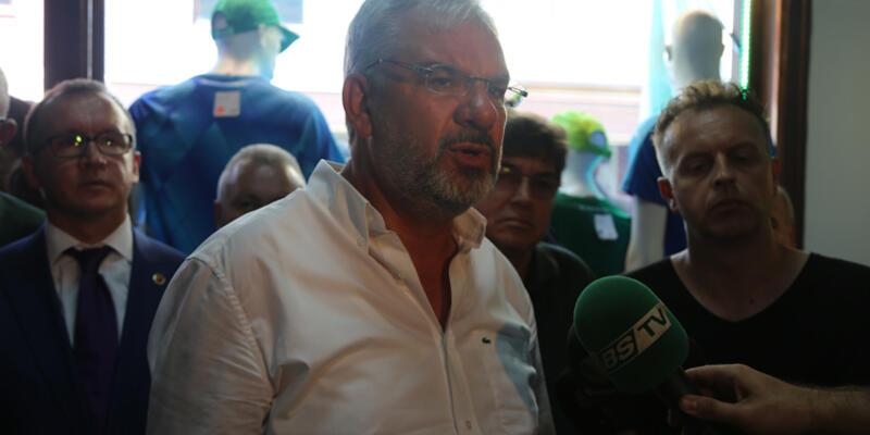 Bursaspor'dan Stoch, Mehmet Topal ve Kweuke açıklaması