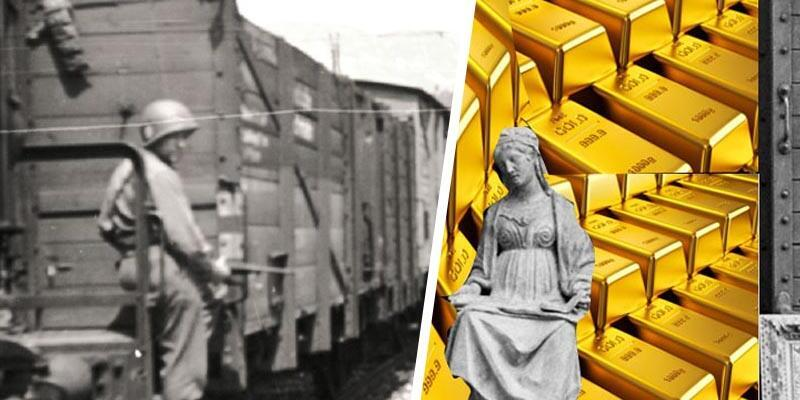Nazilerin altın ve mücevher yüklü efsane treni bulundu
